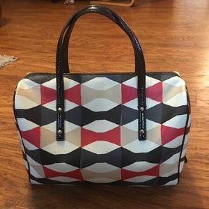 kate spade Bags - Kate Spade Bow Print Satchel Bag